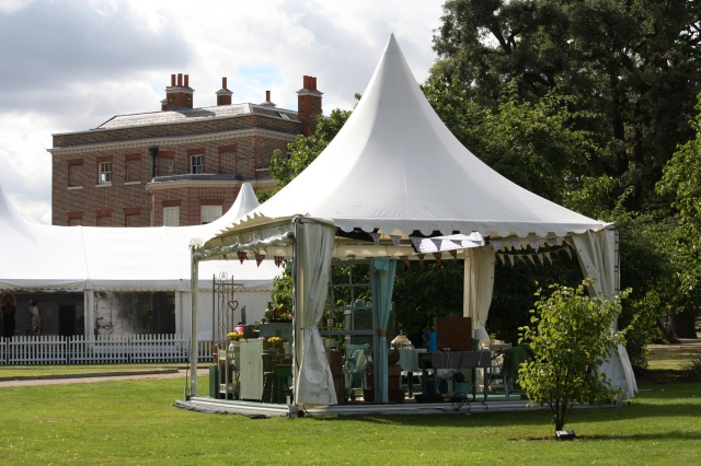 Recognise this - The Great British Bake Off at Valentines Mansion